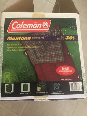 Coleman Sleeping Bag for Sale in Palmdale, CA