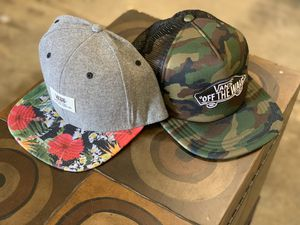 Vans hats for Sale in Gaithersburg, MD