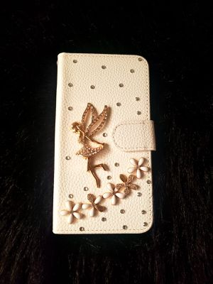 IPHONE OR SAMSUNG LEATHER CASE COVER for Sale in Los Angeles, CA