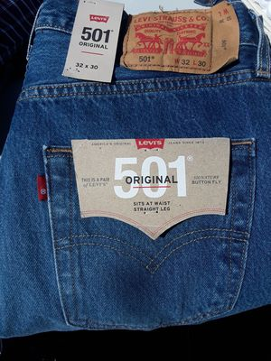 2 New Original Levi's size W32 L30 for Sale in Los Angeles, CA