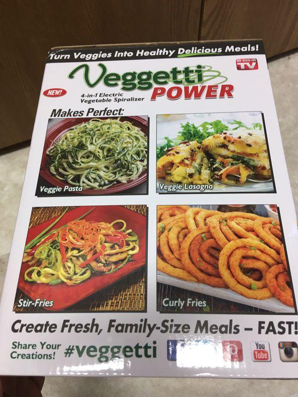 Vegetable spiralizer.
