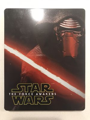 Star Wars Force Awakens Blu-ray steelbook for Sale in Aurora, CO