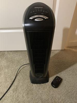 Tower space heater with remote control for Sale in Goleta, CA