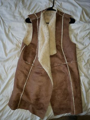 Knox Rose suede and faux fur vest size XL for Sale in Maple Valley, WA