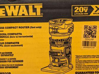 Dewalt Cordless Router 20v Model DCW600B for Sale in Seattle,  WA