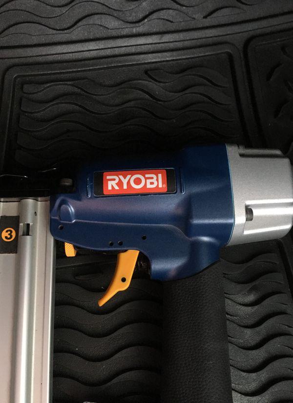 Ryobi nail gun