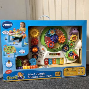 VTech 2-in-1 Jungle Friends Gear Park for Sale in Teaneck, NJ