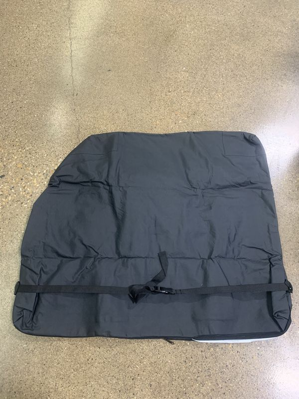 Jeep top panel holding bag