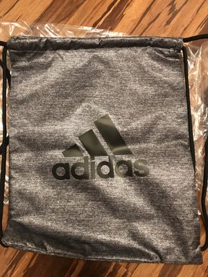NEW Adidas Drawstring Bag Backpack and hairbands for Sale in Rockville, MD