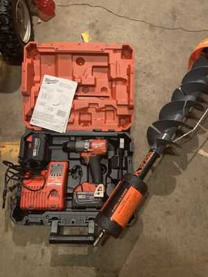 Milwaukee m18 fuel drill for Sale in Minneapolis, MN
