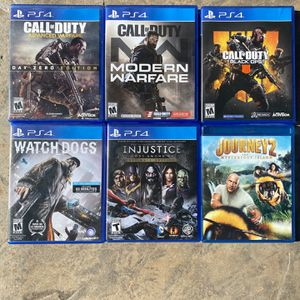 """PS4 Games """"Call of Duty"""" and more for Sale in Carlsbad, CA"""