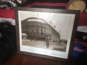 Jackie Robinson framed baseball print for Sale in Salt Lake City, UT
