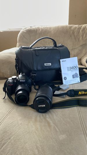 Nikon D3400 for Sale in Canyon Lake, CA
