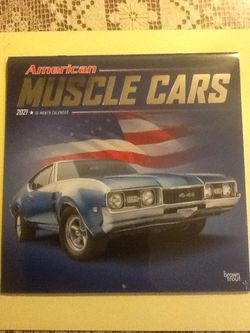 American Muscle Cars 2021 Calendar !!NEW!! for Sale in Las Vegas,  NV