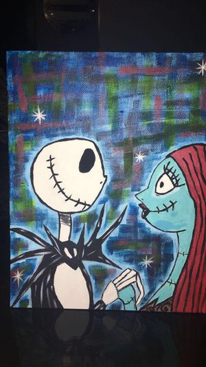 10x8 Nightmare before Christmas painting for Sale in Norridge, IL