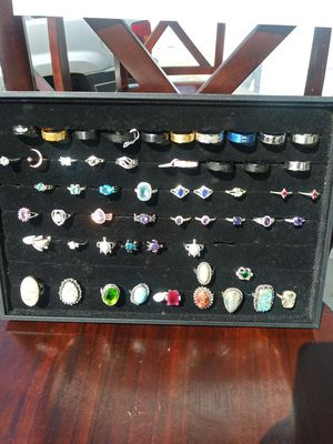 $5.00 rings. 925 silver plated...969 Athens Street. Gainesville GA 30501 for Sale in Gainesville, GA