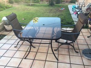 Table and 2 chairs for Sale in San Dimas, CA