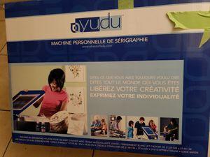Yudu personalized tshirt machine for Sale in Homestead, FL