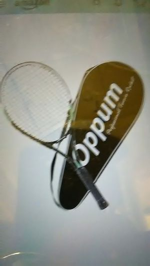 Oppum adult carbon fiber tennis racket for Sale in Phoenix, AZ