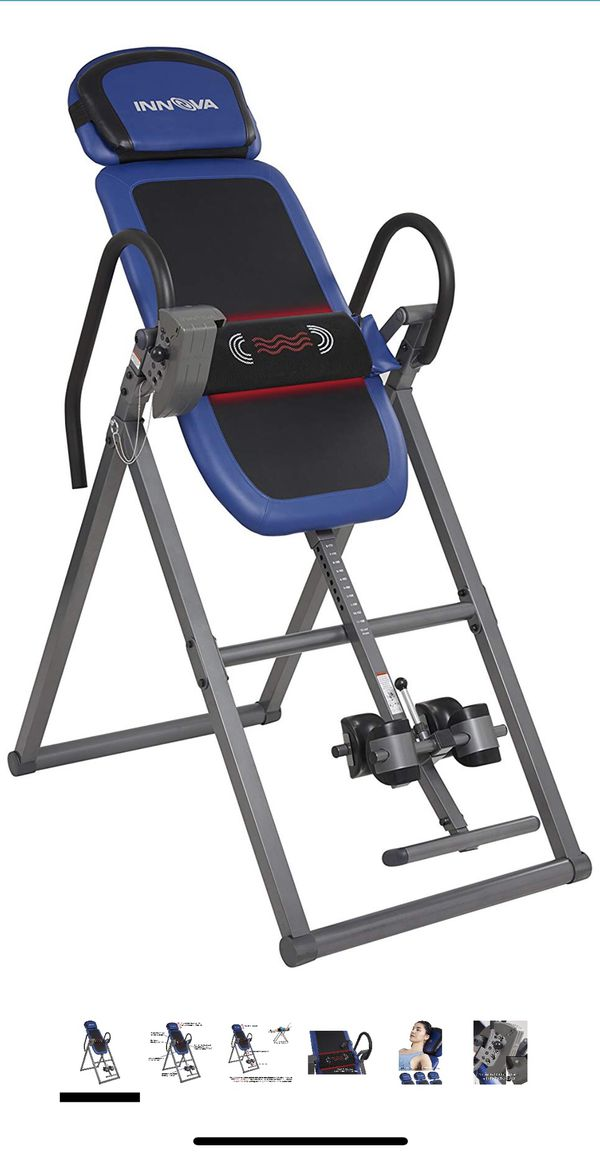 Inversion Table with Heat and Massage