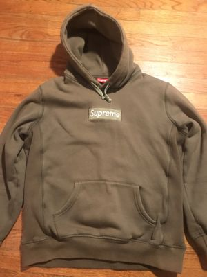 SUPREME OLIVE GREEN BOX LOGO HOODIE 2011 for Sale in Garner, NC