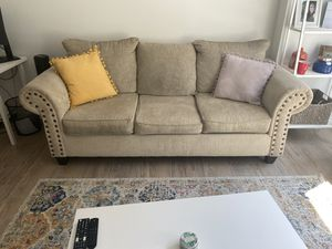 Beige Couch for Sale!! for Sale in Washington, DC