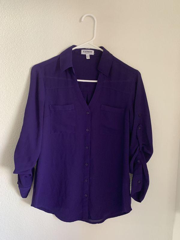 Express women's blouse size xs