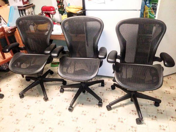 Herman Miller Aeron B office chair