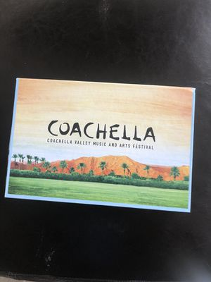 Coachella Weekend 1 GA with Shuttle Pass for Sale in Alhambra, CA