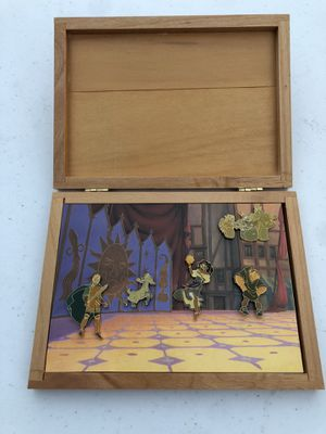 Disney Pins collection from 2001 The Hunchback of Notre Dame. RARE. Never taken out. Brand new. for Sale in La Mirada, CA