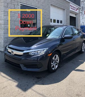 2018 Honda Civic $ 2000 Down Payment for Sale in Nashville, TN