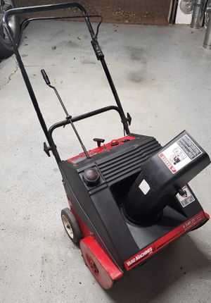 Yard Machine 21 inch snow blower works great for Sale in Morton Grove, IL