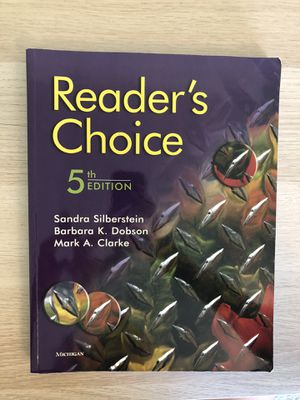 Reader's choice 5 for Sale in Columbia, SC