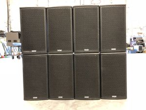 PRO AUDIO SPEAKERS PACKAGE for Sale in Orlando, FL