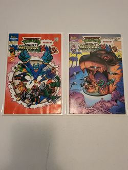 Teenage Mutant Ninja Turtles Present Mighty Mutanimals #1 And 3, Comic Book Lot Of 2 for Sale in Fresno,  CA