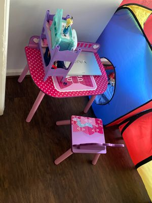 Hello kitty table and chair for $25 for Sale in Herndon, VA