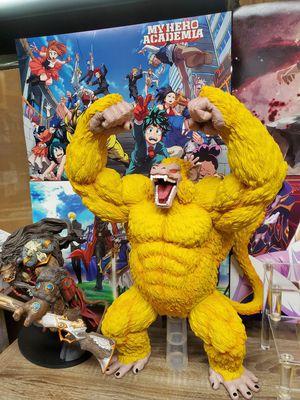 Japanese anime dragon ball z GT toy figure statue oozaru goku monkey ape yellow color 16 inches for Sale in San Gabriel, CA