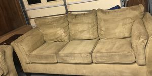 Must pickup ASAP in Lexington. Microfiber couch and love seat for sale $200 for Sale in Lexington, SC