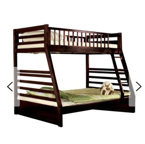 Twin over Full Wooden Bunk Beds for Sale in Tampa, FL