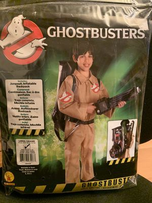 Kids Ghostbusters Costume Size Large 12-14 for Sale in Auburn, WA