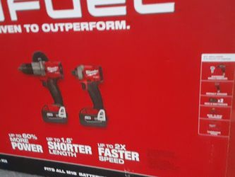 New Milwaukee Fuel Drill And Impact Set for Sale in Tacoma,  WA