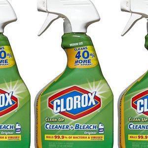 Clorox Clean-Up All Purpose Cleaner with Bleach, Spray Bottle, Original, (3 Bottles) for Sale in Valley Stream, NY