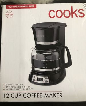 COOKS COFFEE MAKER for Sale in Lakewood, CA