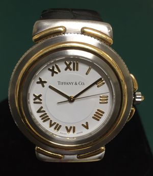 Tiffany & Co 18K/stainless Swiss watch for Sale in Rockville, MD