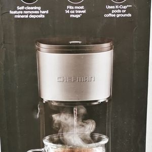 Chefman Instacoffee Single Serve Brewer for Sale in Irvine, CA