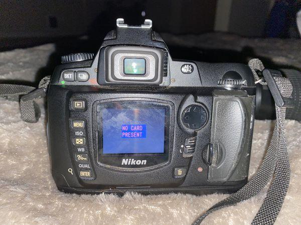 Huge Nikon D70 Bundle