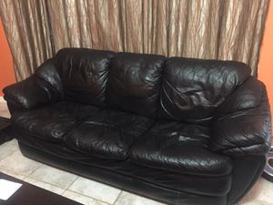 Leather Sofa and Loveseat for Sale in Flower Mound, TX