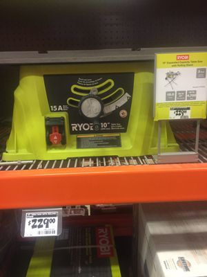 """Ryobi 10"""" table saw for Sale in Staten Island, NY"""