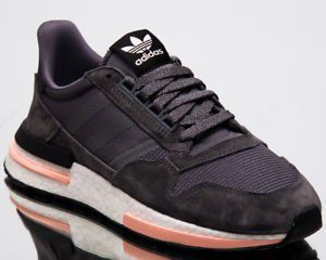 Adidas Originals ZX 500 Rm Boost Men Grey Clear Orange Lifestyle Sneakers sz. 11 for Sale in Huntington Beach, CA