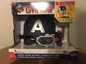 Marvel captain America civil war scope vision helmet for Sale in Houston, TX